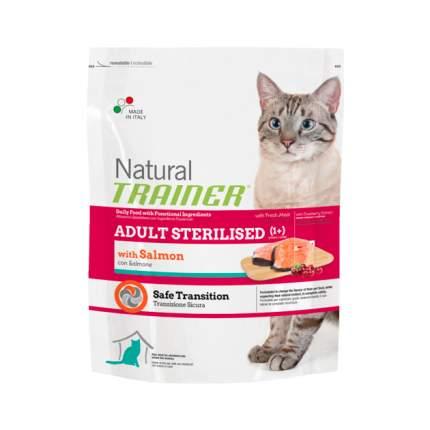 Сухой корм для кошек TRAINER Natural Adult Sterilised, для стерилизованных, лосось, 0,3кг