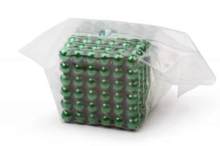 Куб из магнитных шариков Forceberg Cube 5 мм,зелёный,216 эл.