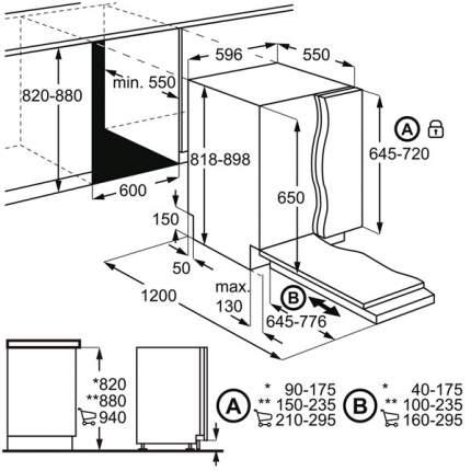 Встраиваемая посудомоечная машина Electrolux Intuit 600 EEQ947200L