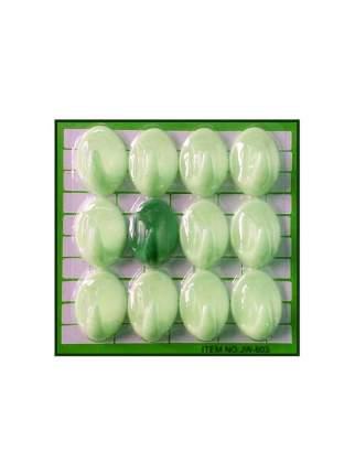 Набор пластмассовых крючков Suction Cups, 12 шт (Салатовый)