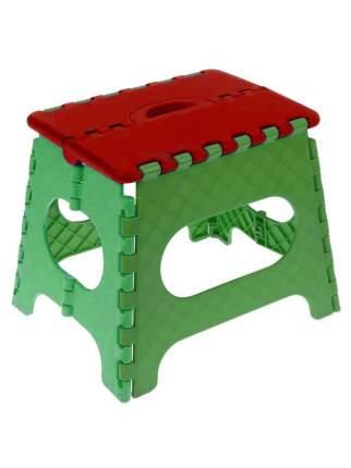 Табурет складной Мультистул (Высота: Малый, 18 см,  Цвет сиденья: Красный)