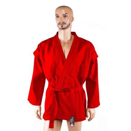 Кимоно (куртка) для самбо - самбовка (Красный, 44)