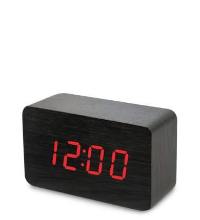 Часы электронные сред. (чёрное дерево с красной подсветкой) ЯЛ-07-05/ 5