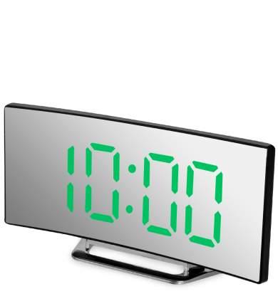 Часы электронные (черный корпус с зелёной подсветкой) ЯЛ-07-06/1
