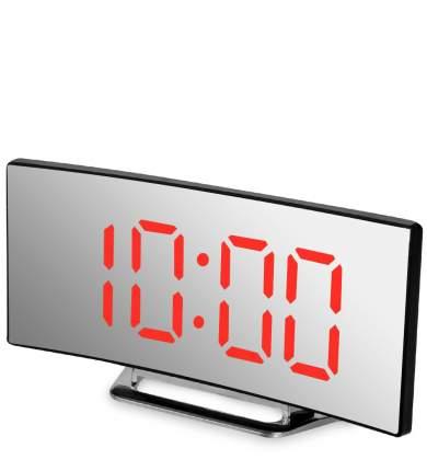 Часы электронные (черный корпус с красной подсветкой) ЯЛ-07-06/2