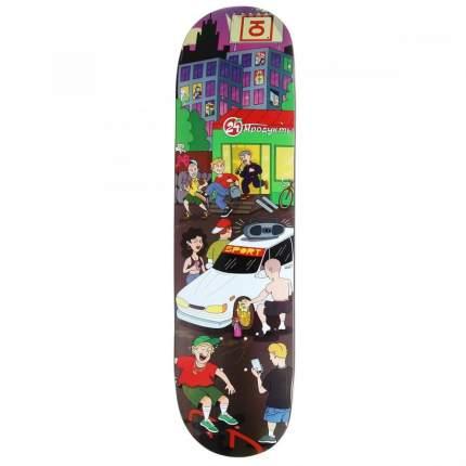 """Дека для скейтборда Union """"Megapolis"""", размер 7.5x31.5, конкейв low"""