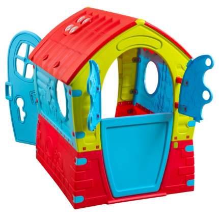 Игровой домик PalPlay Лилипут Красный-зеленый-голубой