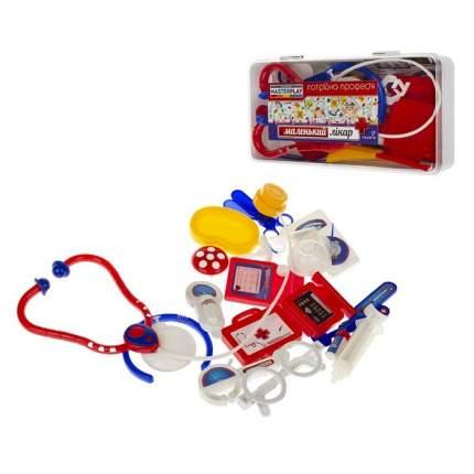 Детский набор Colorplast Маленький доктор в чемодане, 17 предметов