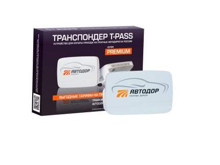Транспондер T-pass Premium Kapsch TRP-4010 серый (Автодор-Платные Дороги)