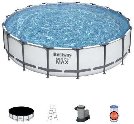 Каркасный бассейн Bestway Steel Pro Max 56488 457x457x107 см