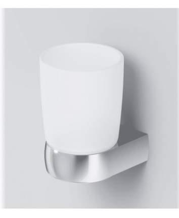 Стеклянный стакан с настенным держателем, хром,Sensation A3034300