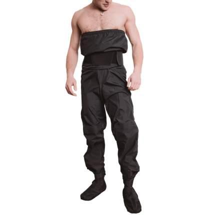 Сухие штаны Спрут, размер М, цвет черный