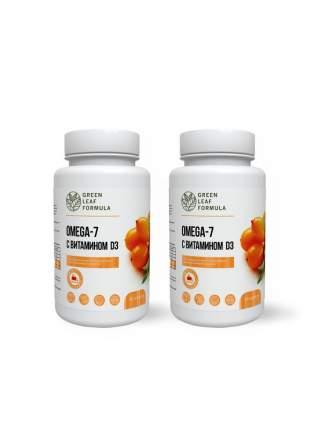 Набор для похудения Omega-7 с витамином d3, 2 шт. Green Leaf Formula 60 капсулы 60 шт.
