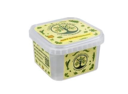 Набор для выращивания Giardino Verde XL 44588.0 салат, щавель
