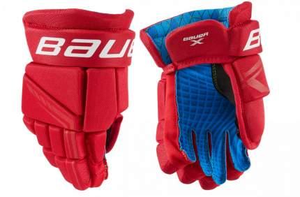 Перчатки хоккейные BAUER X S21 YTH детский(9 / красный/9)