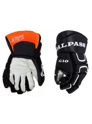 Перчатки хоккейные GOAL&PASS G10 YTH детские(10 / черный/10)
