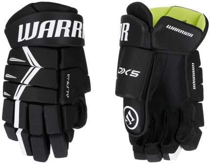 Перчатки хоккейные WARRIOR Alpha DX5 SR взрослые(15 / черный/15)