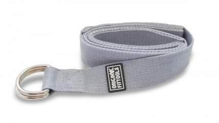 Ремешок для йоги ORIGINAL FITTOOLS 243 см(серый)