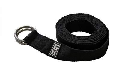 Ремешок для йоги ORIGINAL FITTOOLS 304 см(черный)