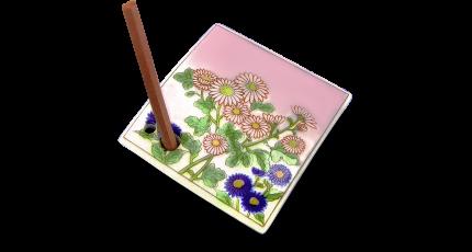 Подставка под аромапалочки Shoyeido, 734510, Маленькая Хризантема Shoyeido Japan