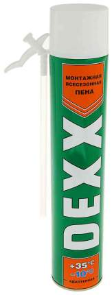 Пена DEXX монтажная, адаптерная, всесезонная, 750мл