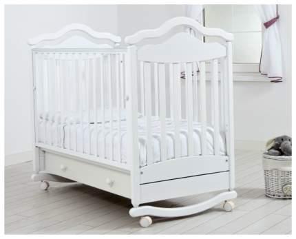 Кровать Gandylyan Анжелика маятник универсальный белая