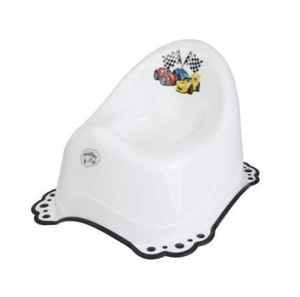 Горшок детский Maltex c антискользящим покрытием Cars 6665 белый