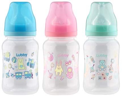 Бутылочка для кормления Lubby Классика с соской молочной 270 мл