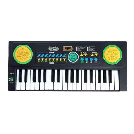 Синтезатор «Музыкант-2» с микрофоном и блоком питания, 37 клавиш Забияка