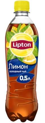 Чай черный Lipton лимон 0.5 л