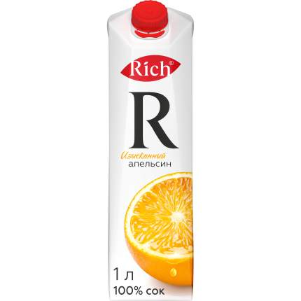 Сок Rich изысканный апельсин 1 л