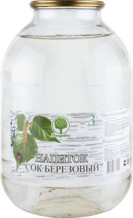 Напиток Плодовое сок березовый 3 л
