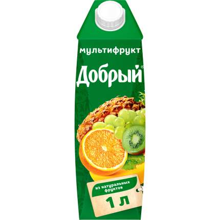 Нектар Добрый мультифрут 1 л