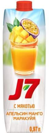 Нектар манго-маракуйя-апельсин J7 premium edition 0.97 л