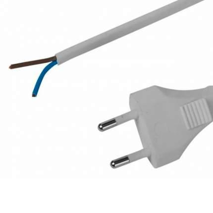 Шнур СВЕТОЗАР с вилкой соединительный для электроприборов, 3 м, 2400 Вт, 2*0,75кв,мм