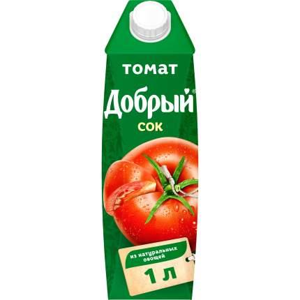 Сок томат Добрый с солью с мякотью 1 л