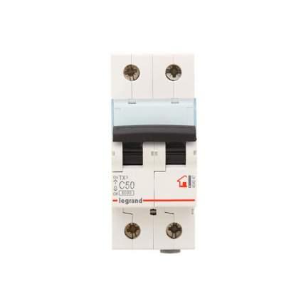 Автоматический выключатель Legrand TX3 2п C 50А 6кА404047