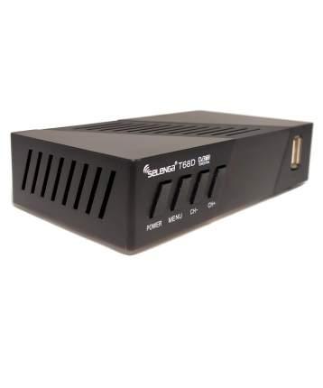 DVB-T2 приставка Selenga T68D Black