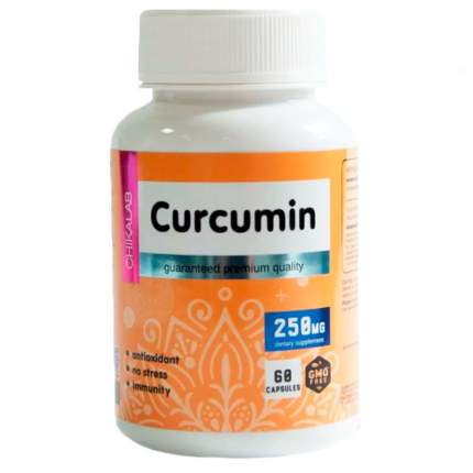 Куркумин Chikalab Curcumin (60 капсул)