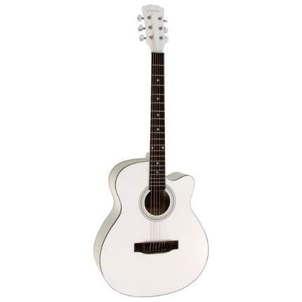 Гитара акустическая Cowboy 38c Wh