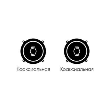 Готовый комплект автоакустики фронт Ural + тыл Ural 34324
