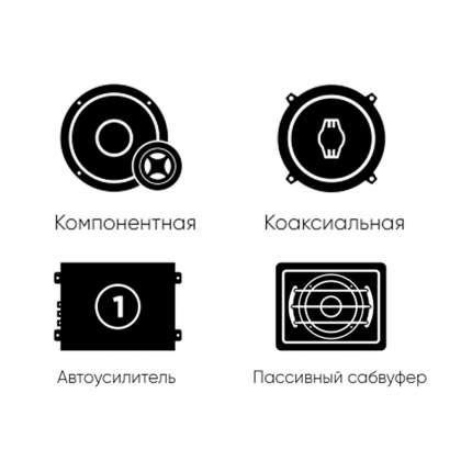 К-т акустики фронт + тыл Focal Auditor +усилитель 4к +усилитель1к +сабвуфер 34340