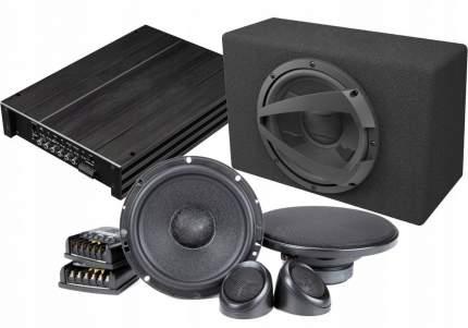 Готовый комплект автоакустики фронт CDT Audio + тыл CDT Audio + усилитель 4к 34345