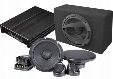 Готовый к-т акустики фронт + тыл Focal Performance PS + усилитель 4к 34360