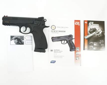 Пневматический пистолет CZ 75 SP-01 Shadow Line ASG CZ SP-01 SHADOW