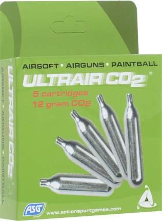 CO2-баллоны для страйкбола ASG Ultrair Power 40 г, 5 шт.