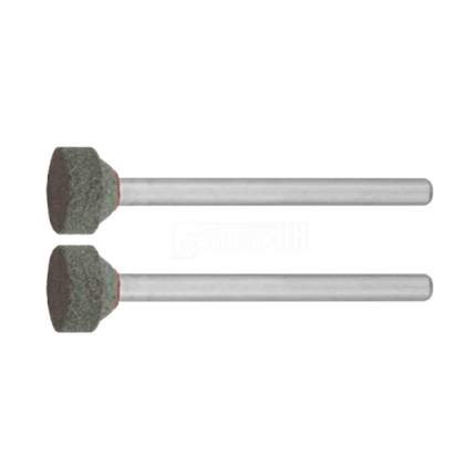 Шлифовальная абразивная щетка для гравера Зубр P 120, d 10,0x3,2мм, L 45мм, 2шт