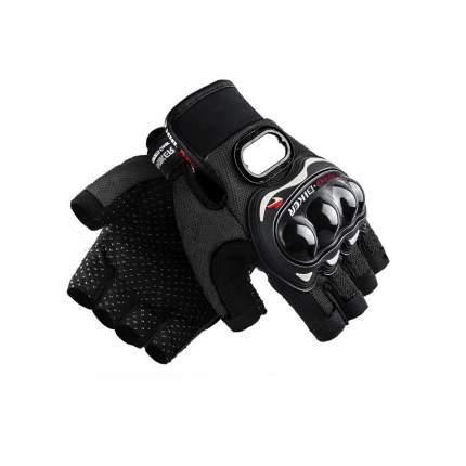 Мотоперчатки, черные, размер L, BroBobber BR-GLV1-02-L