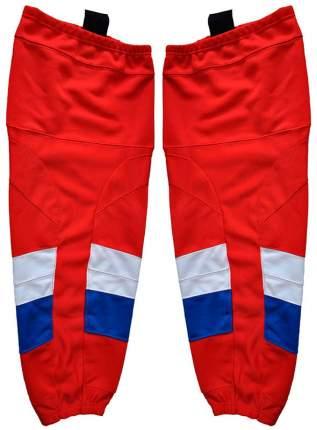 Гамаши хоккейные I ONE цветные JR подростковые(бело-сине-красный)