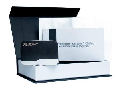 Транспондер T-pass Platinum Kapsch TRP-4010 черный (Автодор-Платные Дороги)